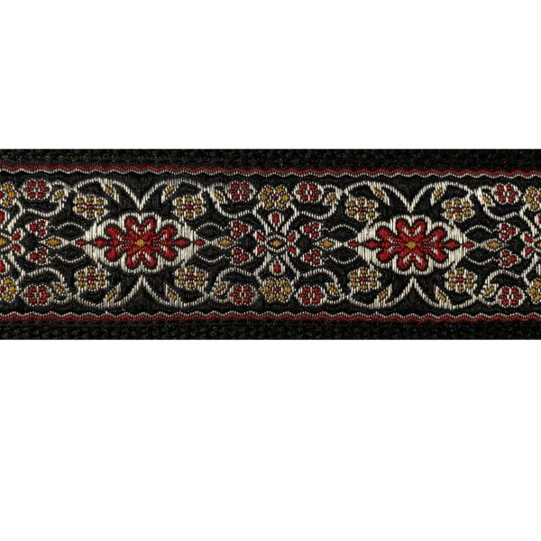 Attached Yoga Strap Uttanasan mit silbernem Prokat Muster